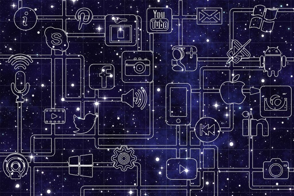 networks, internet, social